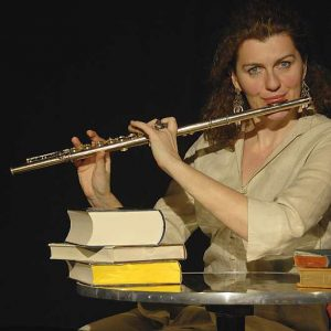 Lesung und Flöte